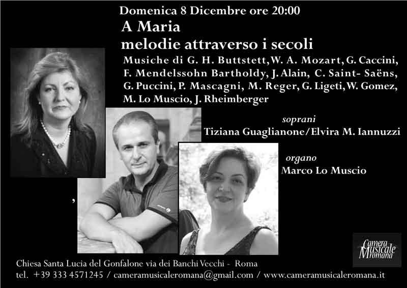 """Chiesa Santa Lucia del Gonfalone """"A Maria melodie attraverso i secoli"""""""