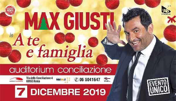 Auditorium Conciliazione Max Giusti