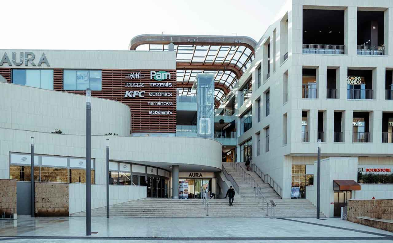 "Centro Commerciale Aura ""Shopping in sicurezza"""