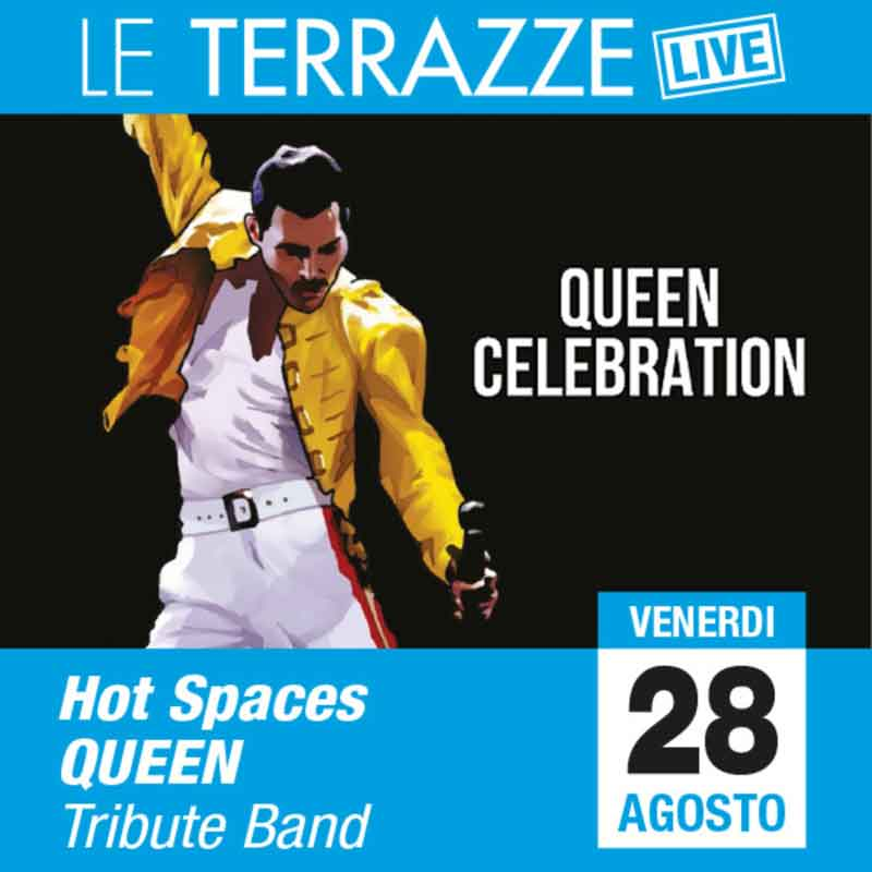 """""""Queen Tribute Band"""" Le Terrazze Live"""