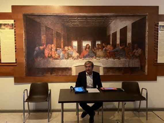 Leonardo Da Vinci al Palazzo della Cancelleria