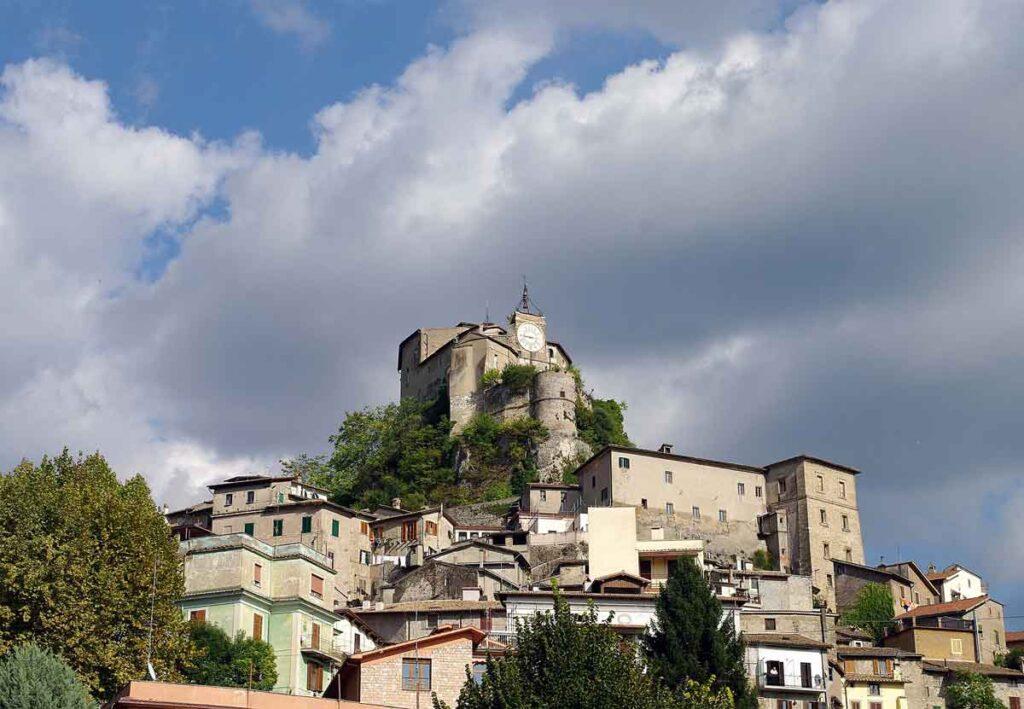 Uno dei Borghi più belli d'Italia Subiaco.