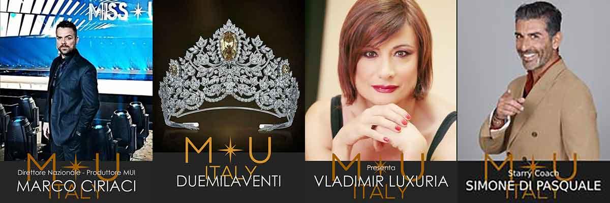 Marco Ciriaci Patron di Miss Universe Italy annuncia la Finale