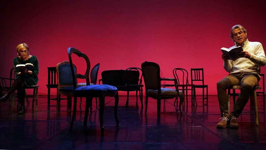 """Teatro Vascello """"Letture a puntate del romanzo,"""