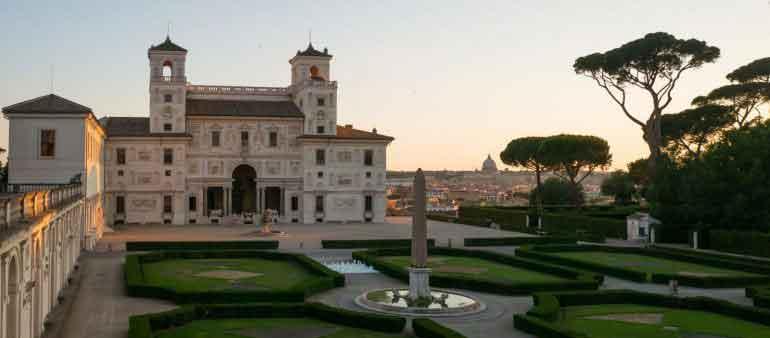 Villa Medici. In occasione dell'Anno del fumetto,
