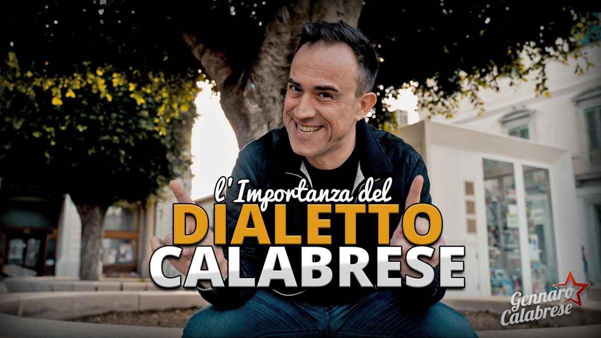 "Gennaro Calabrese ""L'importanza del dialetto calabrese""."