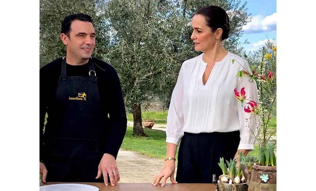 """Roberta Capua e """"L'ingrediente perfetto"""","""