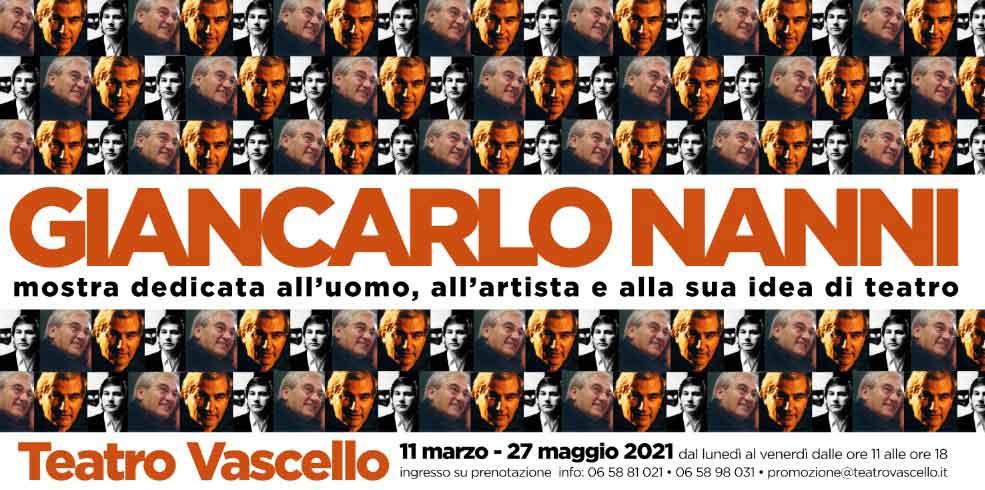 Giancarlo Nanni mostra sulla sua idea di Teatro,