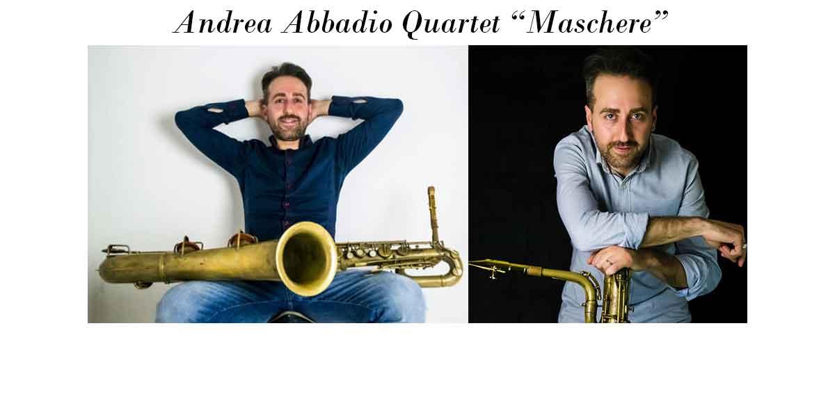 "Andrea Abbadia Quartet ""Maschere"" (Wow Records)."