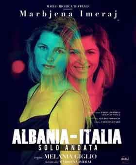 """Teatro Lo Spazio presenta """"Albania-Italia solo andata."""