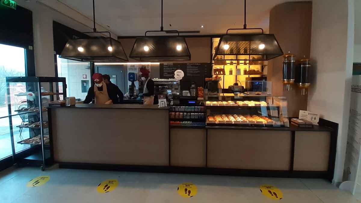 """Ospedale Gemelli di Roma """"Chef Express"""" caffetteria Panella."""