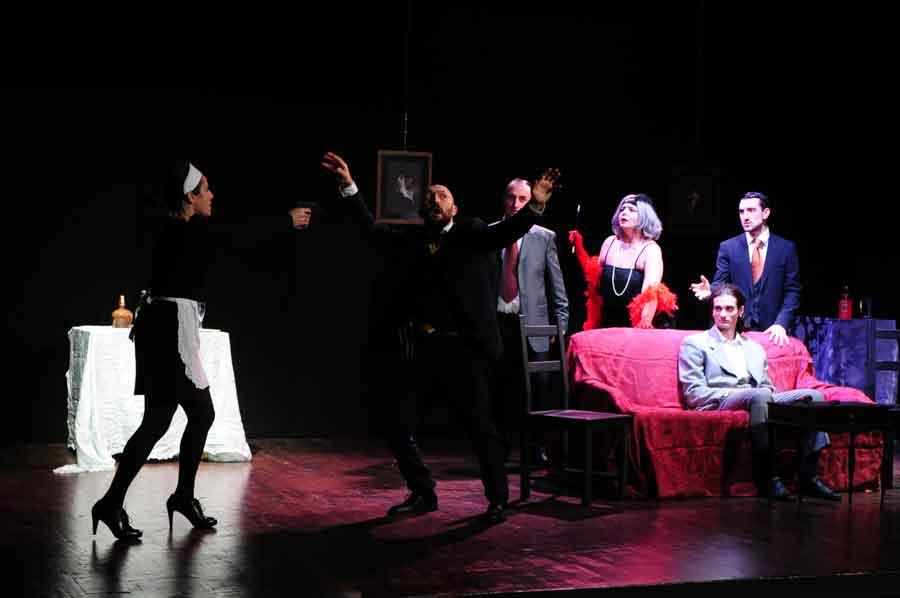 """Teatro Ghione """"Sei personaggi in cerca d'attore."""