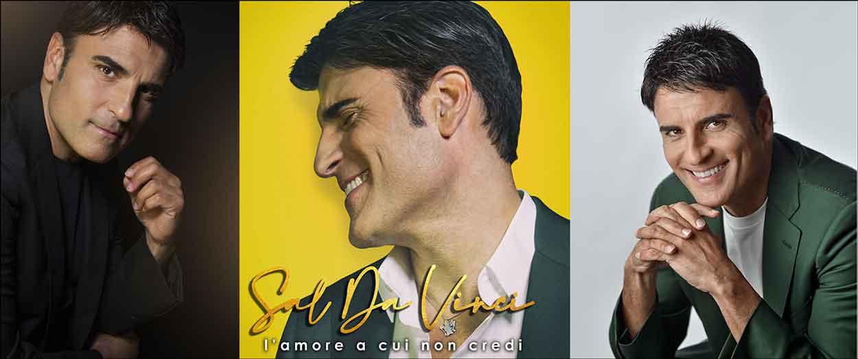 """Sal Da Vinci """"L'Amore a cui non credi""""."""