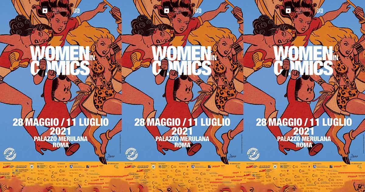 """""""Women in Comics"""" Palazzo Merulana"""