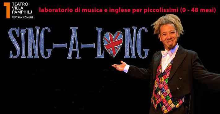 "Teatro Villa Pamphilj – Roma ""Sing-a-long""."