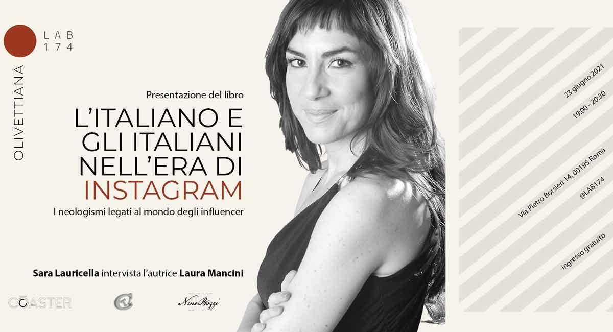 """""""L'italiano e gli italiani nell'era di Instagram"""" di Laura Mancini,"""