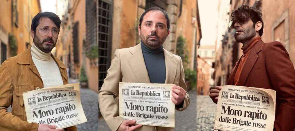 """""""Il caso Aldo Moro"""" Visite guidate teatralizzate 2021."""