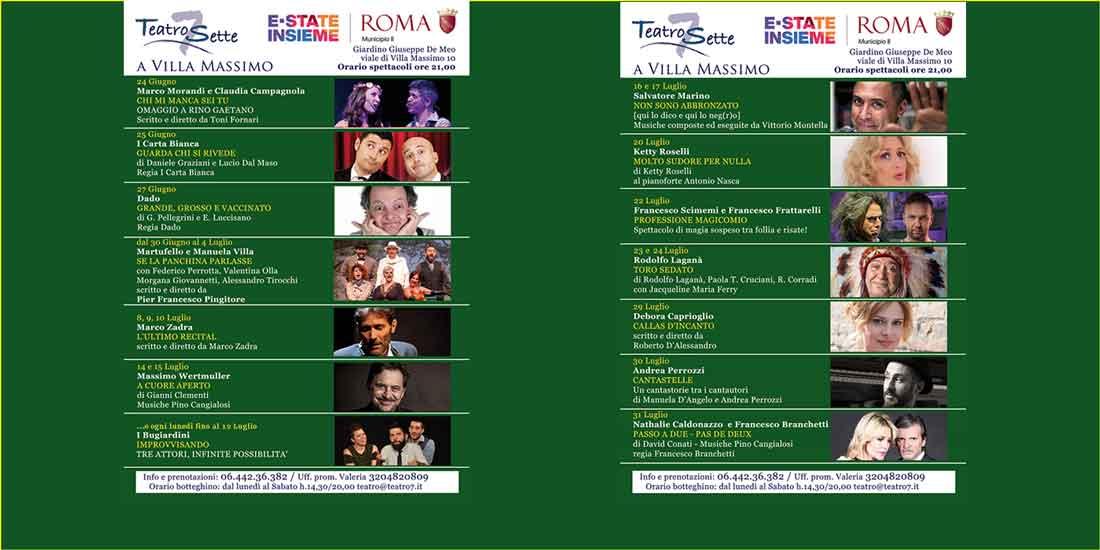Teatro 7 a Villa Massimo