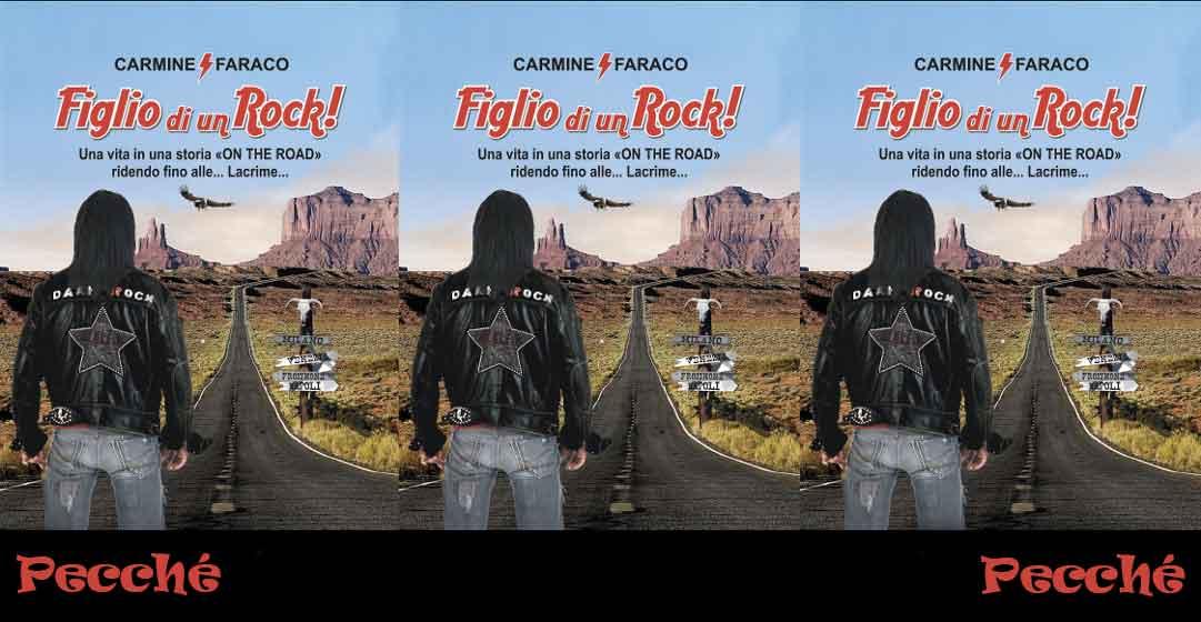 """Carmine Faraco. Arriva """"Figlio di un Rock"""","""