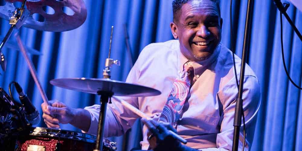 "Ronnie Burrage al ""Jazz & Image""."