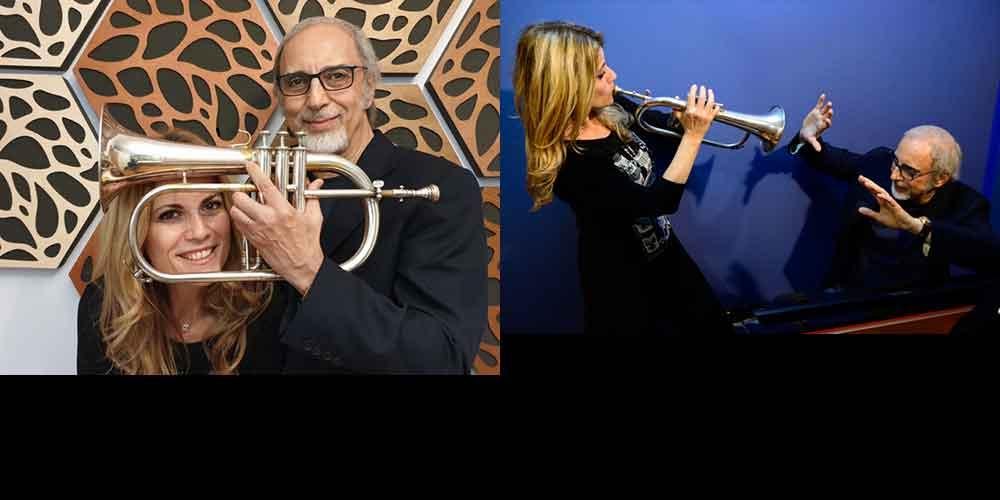 """Jazz & Image"" Stefania Tallini & Franco Piana."