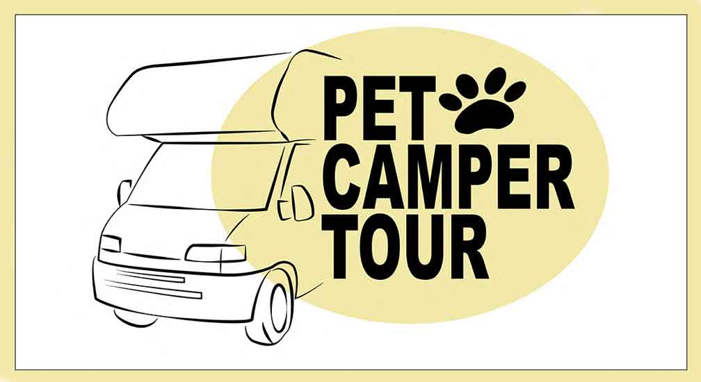 Arriva il Pet Camper Tour per gli amici animali.