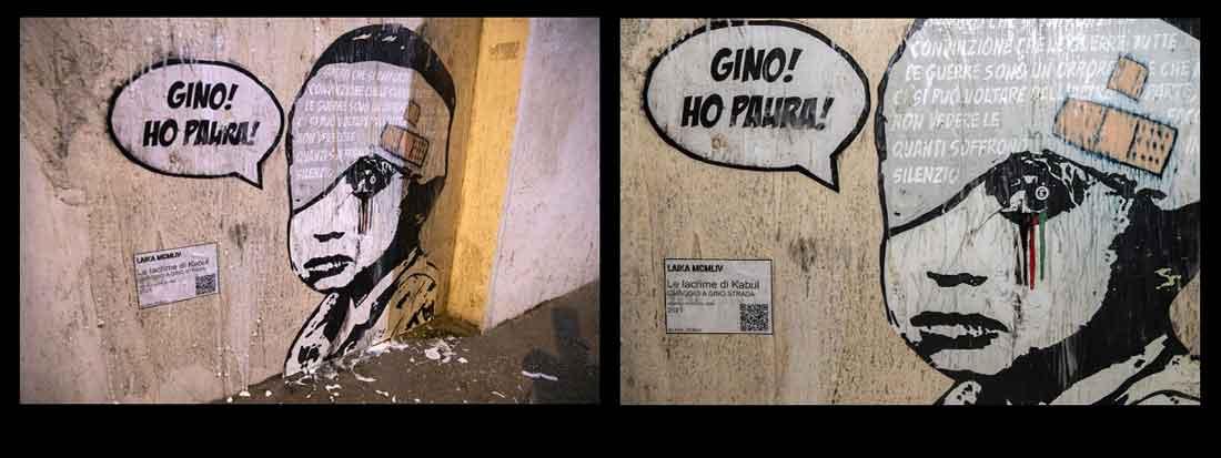 """""""Omaggio a Gino Strada"""" Le lacrime di Kabul."""