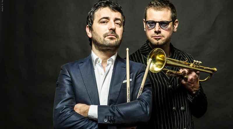 """Lorenzo Tucci Touch Trio + Fabrizio Bosso """"Jazz & Image""""."""