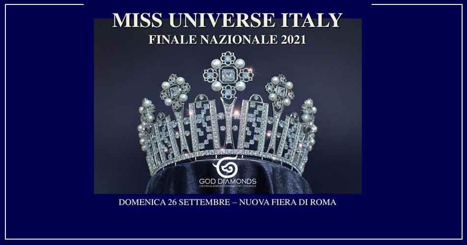 """""""MISS UNIVERSE ITALY 2021"""" alla Fiera di Roma"""