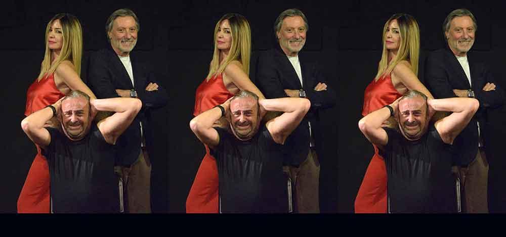 """Teatro 7 Villa Massimo presenta """"Stasera mi butto""""."""