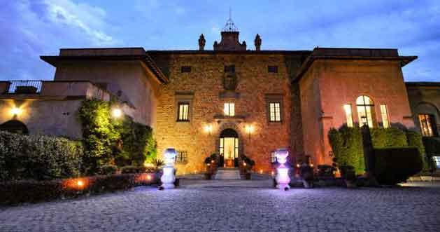 """""""Defilè Luxury Rome"""" a Villa Giovannelli Fogaccia."""