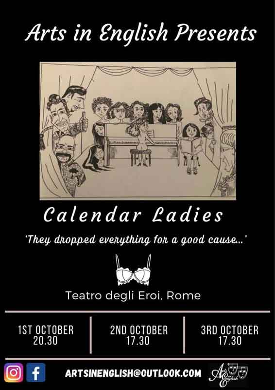 "Teatro degli Eroi di Roma ""Calendar Ladies"", u"