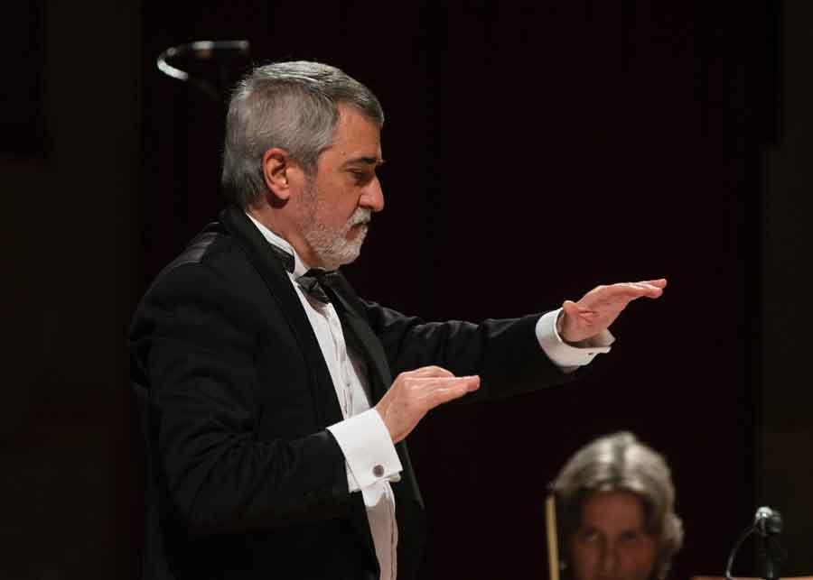 """Auditorium """"E. Morricone"""" concerto inaugurale della stagione."""