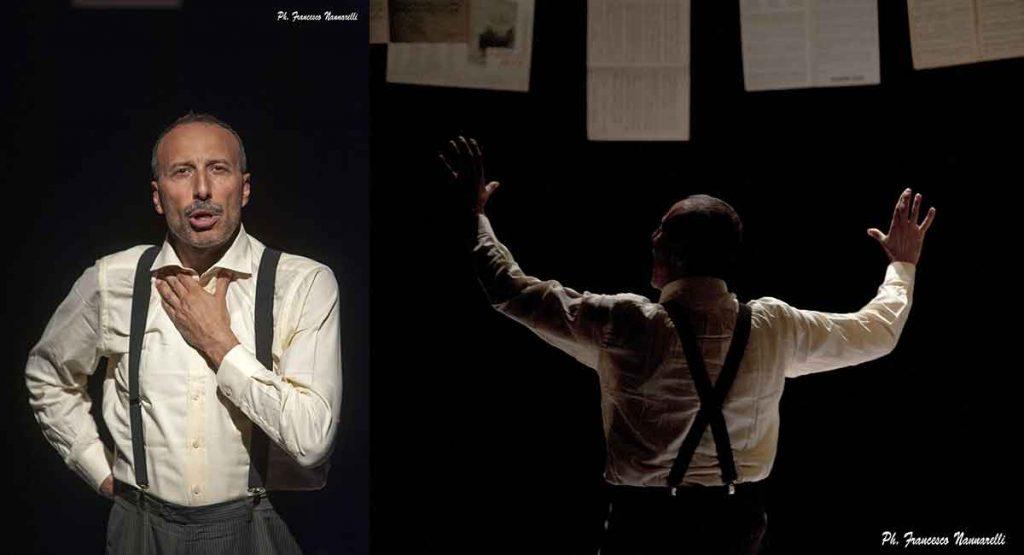 """Marco Simeoli in """"Manca solo Mozart""""."""
