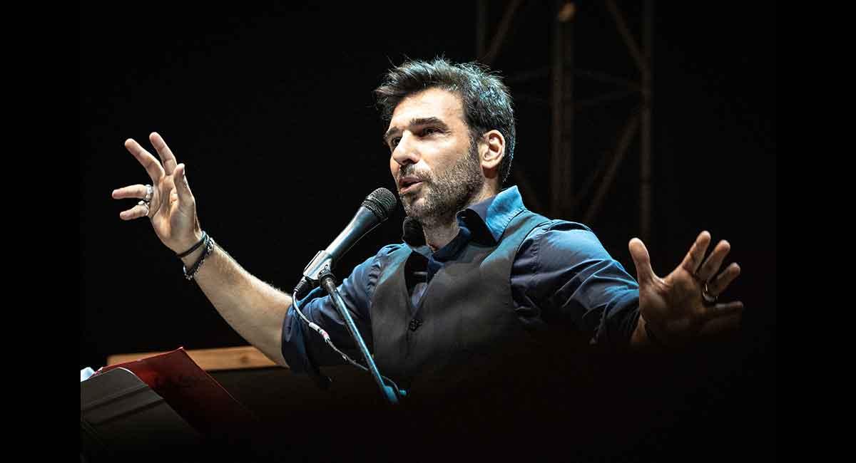 Edoardo Leo all'Auditorium Parco della Musica