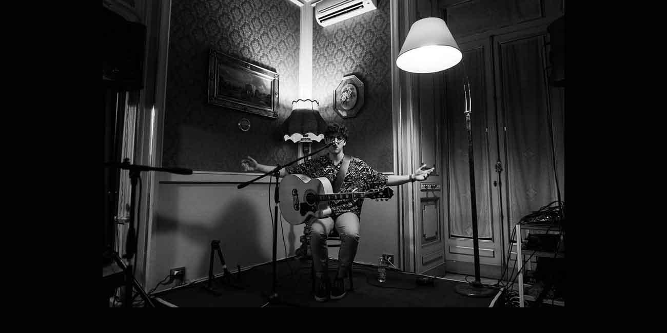 """Lorenzo Lepore """"Live al Wishlist di Roma""""."""